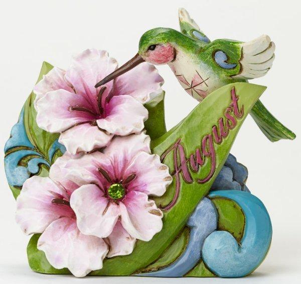 Jim Shore 4040662 August Flower Gladi Figurine
