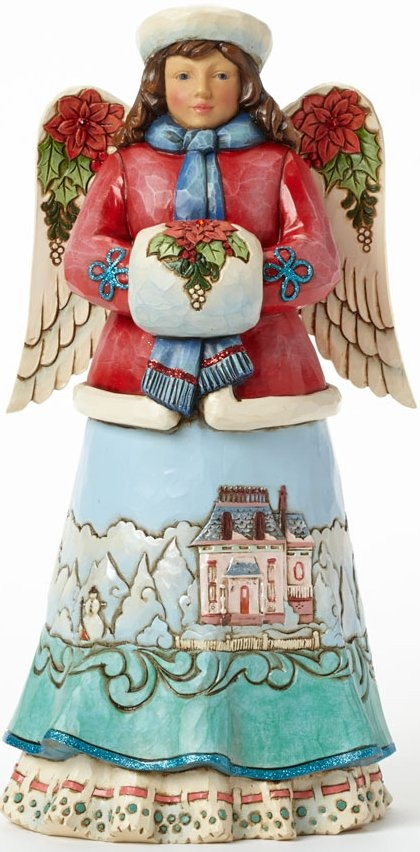 Jim Shore 4041081 Winter Wonderland Angel