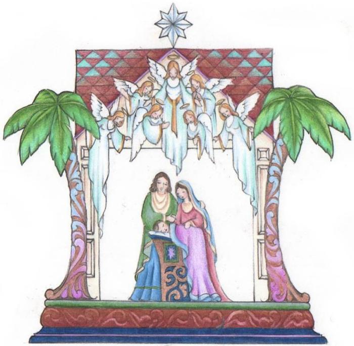 Jim Shore 4041088 Nativity Masterpiece