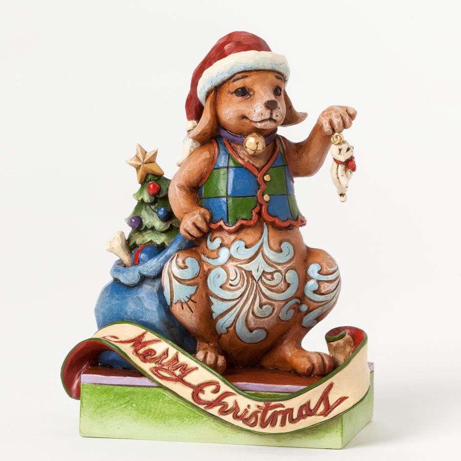 Jim Shore 4041095 2014 Christmas Dog