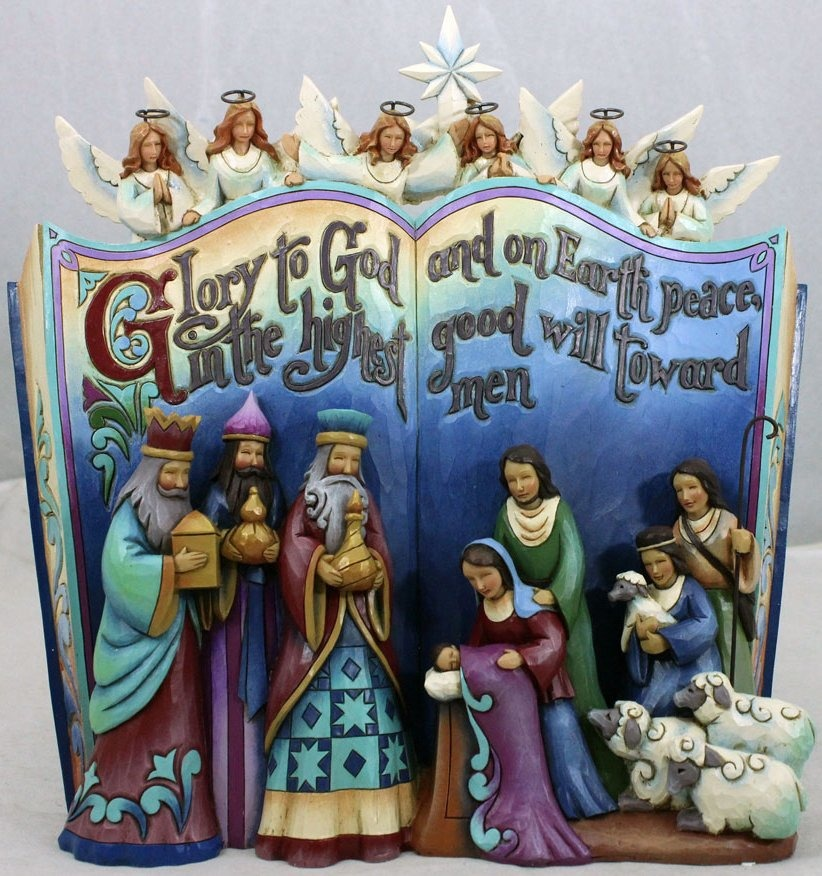 Jim Shore 4041099 Nativity Storybook