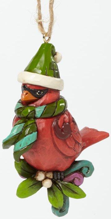 Jim Shore 4041124 Christmas Cardinal Ornament