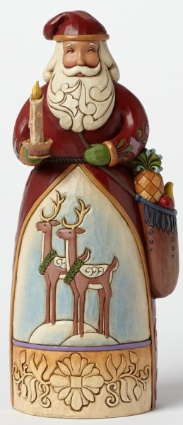 Jim Shore 4041130 JS WIL Figurine Williamsburg Santa