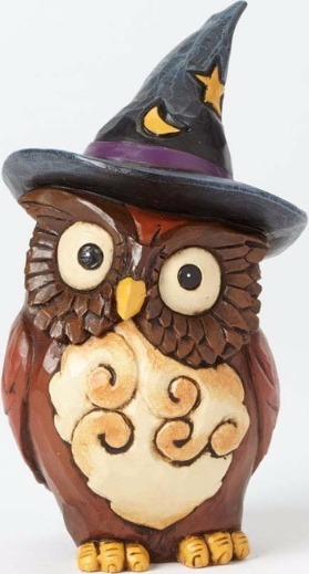 Jim Shore 4041143Q Owl Witch Mi Figurine