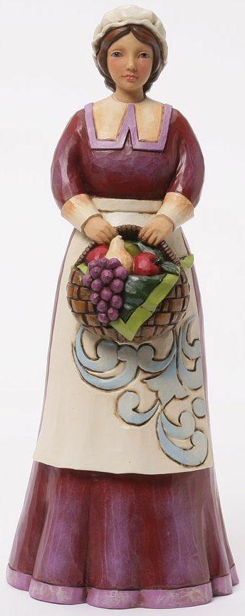 Jim Shore 4041152 Pilgrim Woman