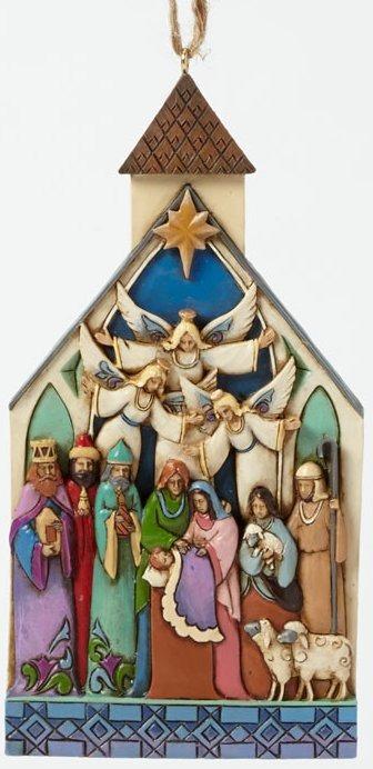 Jim Shore 4041465 Nativity Church