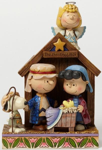 Jim Shore Peanuts 4042370 Christmas Pageant