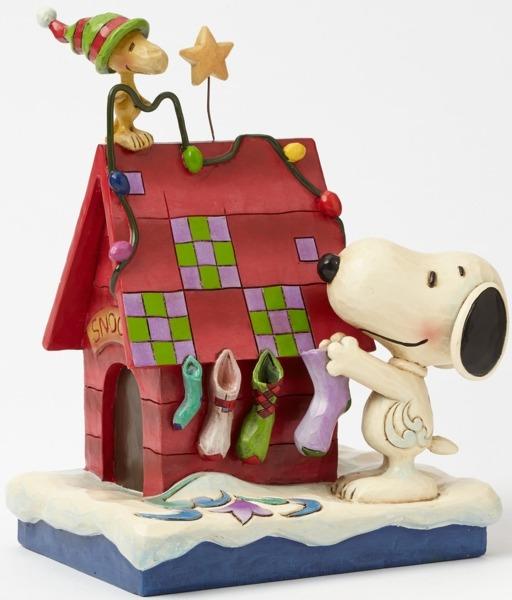 Jim Shore Peanuts 4042372 Snoopy Decorating