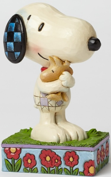 Peanuts by Jim Shore 4042377 Snoopy and Woodstock Hug