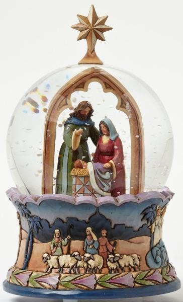Jim Shore 4044512 Waterball Nativity Holy