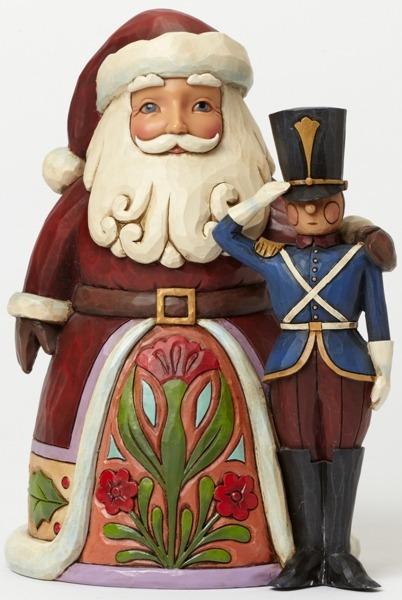 Jim Shore 4044518 Santa Toy Sold Figurine