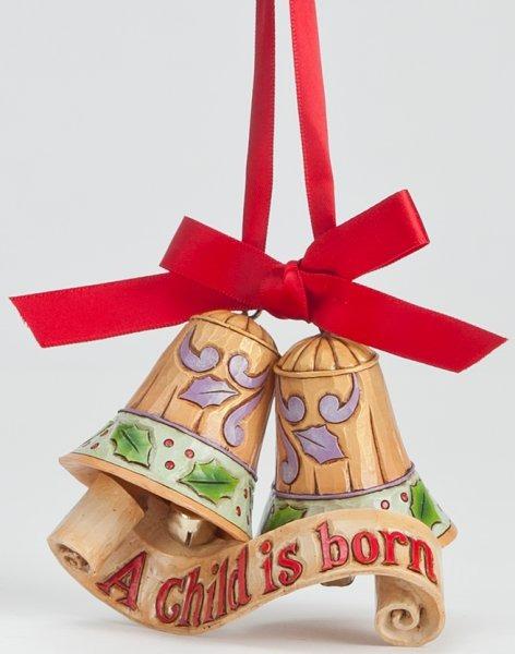 Jim Shore 4044519 Legend of Christmas Ornament