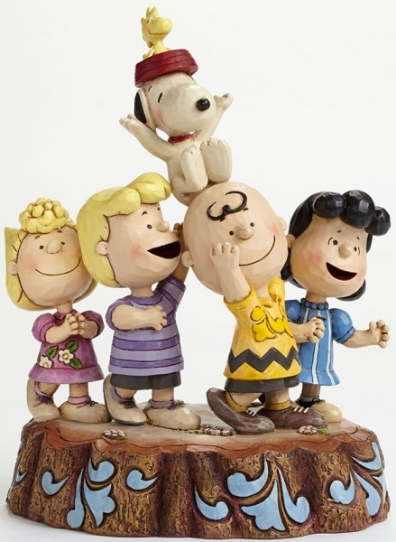 Jim Shore Peanuts 4044685 65th Anniversary
