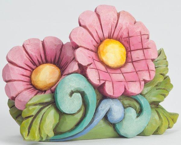 Jim Shore 4045276 Flowers Mini Figurine