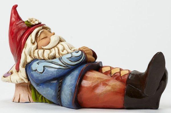 Jim Shore 4045279 Sleeping Gnome Figurine