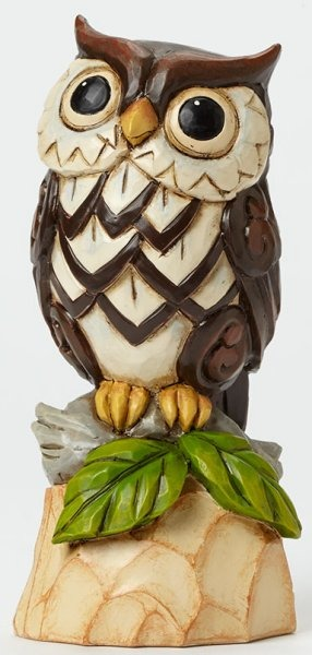 Jim Shore 4045280 Woodland Owl Figurine