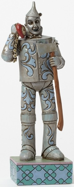 Jim Shore Wizard of Oz 4045419 Tin Man with Heart