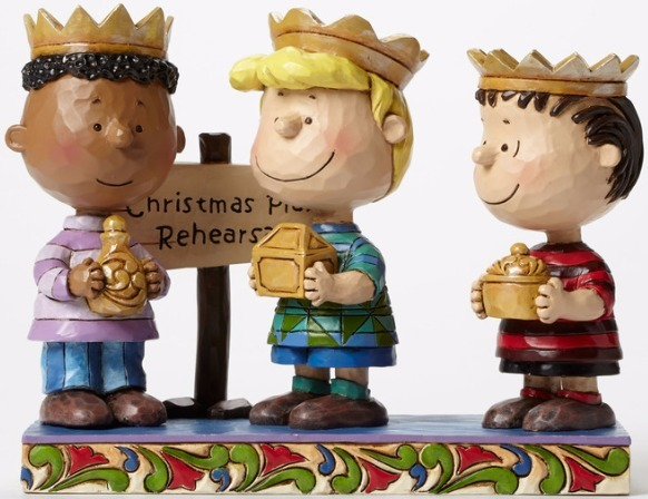 Jim Shore Peanuts 4045874 Three Wise Men
