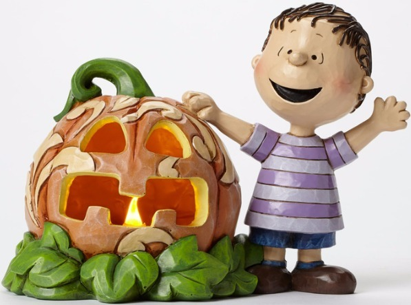 Peanuts by Jim Shore 4045887 the great pumpkin light