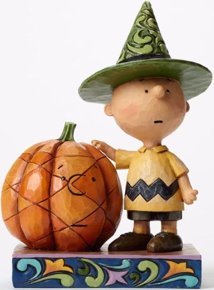 Jim Shore Peanuts 4045889 Halloween Charlie Brown