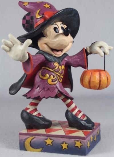 Jim Shore 4046026 Sweet Treat Minnie Mouse