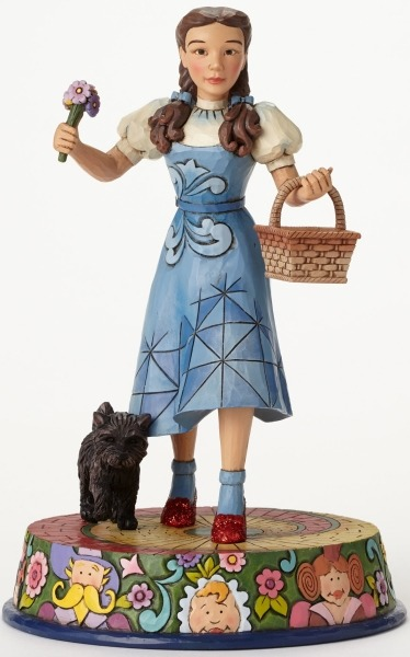 Jim Shore Wizard of Oz 4046422 Dorothy and Toto on Yell