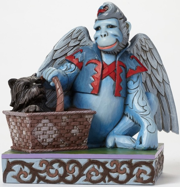 Jim Shore Wizard of Oz 4046424 Winged Monkey with Baske
