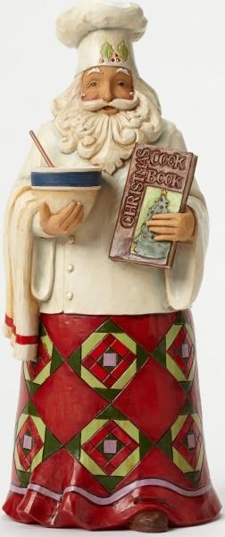 Jim Shore 4046761 Santa Chef Figurine