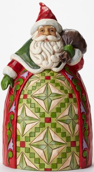 Jim Shore 4046765 Santa Toybag T Figurine