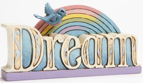 Jim Shore 4047063 Dream Word Figurine
