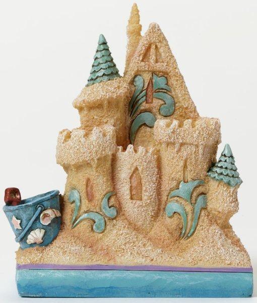 Jim Shore 4047065 Sand Castle Mini Figurine