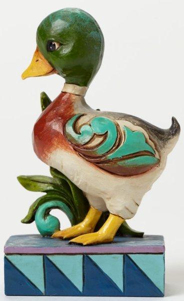 Jim Shore 4047067 Mallard Duck Mini Figurine