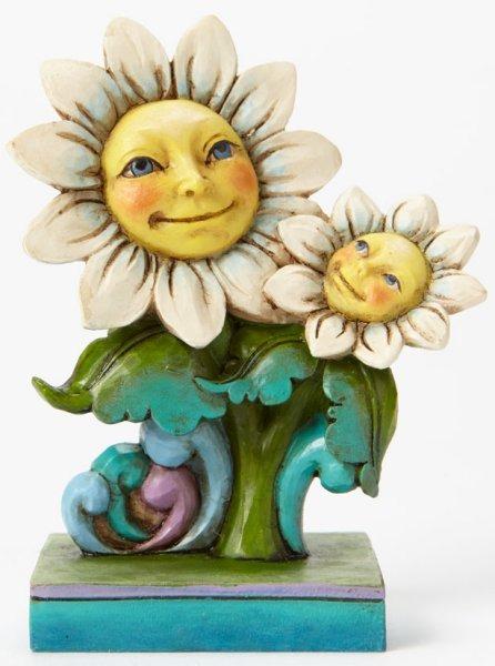 Jim Shore 4047072 Daisies Mini Figurine
