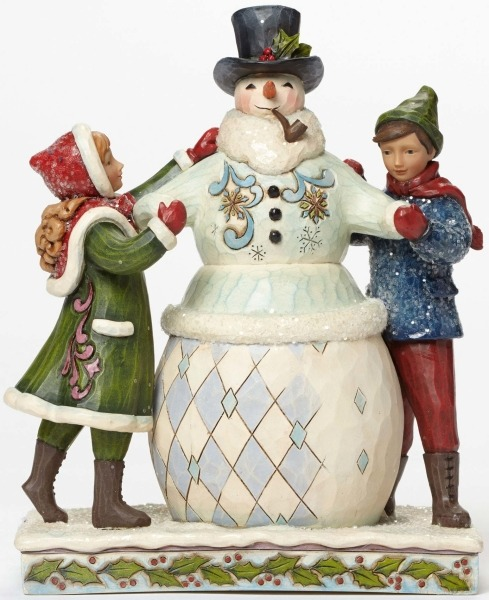 Jim Shore 4047675 Victorian Children Figurine