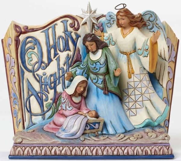 Jim Shore 4047760 Song Book O Holy Ni Figurine