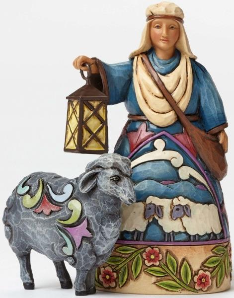 Jim Shore 4047769 Mini Nativity Sheph Figurine