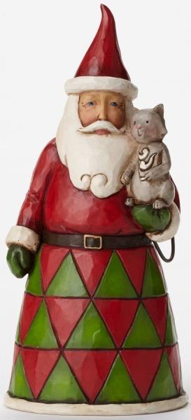 Jim Shore 4047775 Pint Sized Santa w Figurine