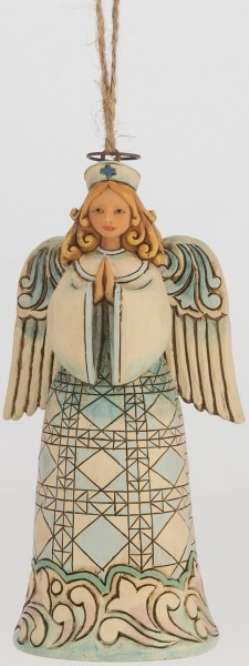 Jim Shore 4047797 Nurse Angel Ornament