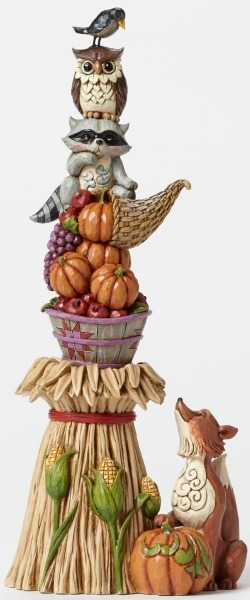 Jim Shore 4047828 Stacked Harvest Figurine