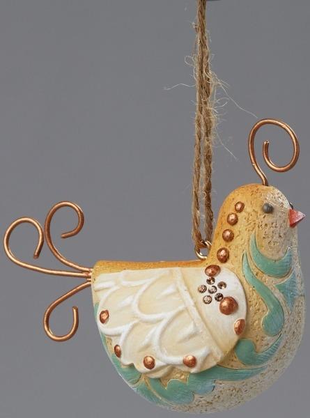 Jim Shore 4048067 Hanging Ornament Partridge