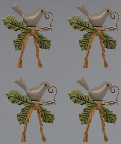 Jim Shore 4048090 Set 4 Napkin Rings