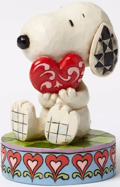 Jim Shore Peanuts 4049396 Snoopy With Heart