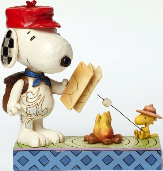 Peanuts by Jim Shore 4049414 Campfire