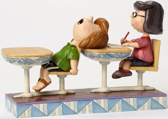 Jim Shore Peanuts 4049416 School Days