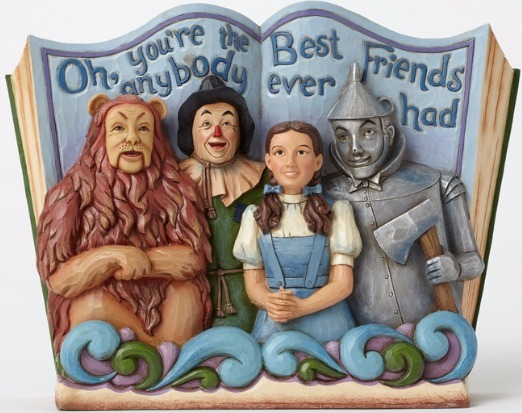 Jim Shore Wizard of Oz 4049681 4 Main Characters Toget
