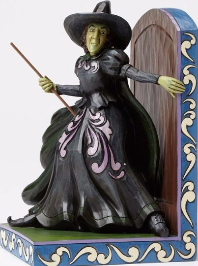Jim Shore Wizard of Oz 4049683 Bookend Wicked Witch