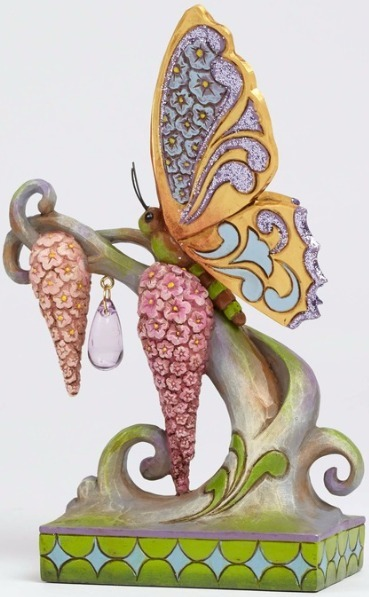 Jim Shore 4051433 Butterfly Spring Wo Figurine