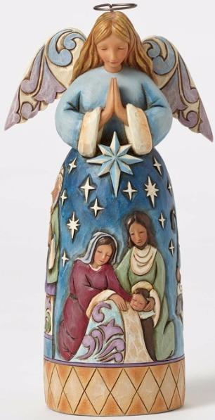Jim Shore 4051538 Nativity Angel Figurine