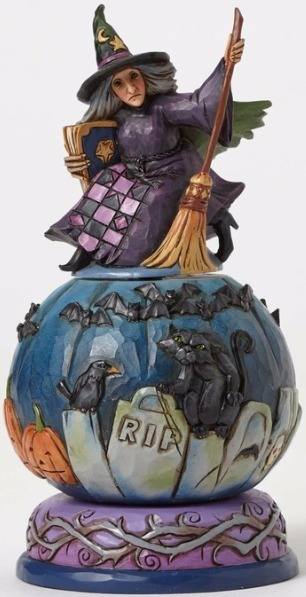 Special Sale 4051547 Jim Shore 4051547 Graveyard Witch Mov Figurine