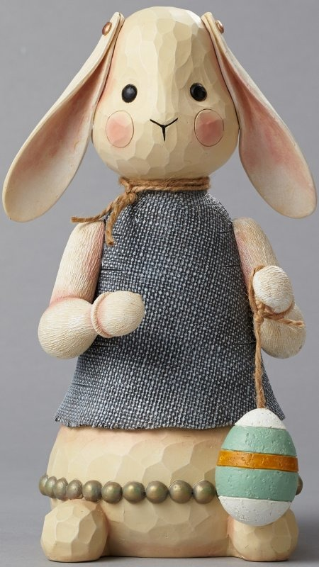 Jim Shore 4051564 Bunny Figurine